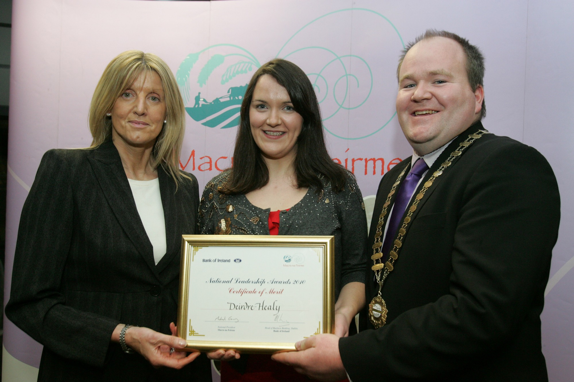Cork Girl is runner up at National Leadership Awards