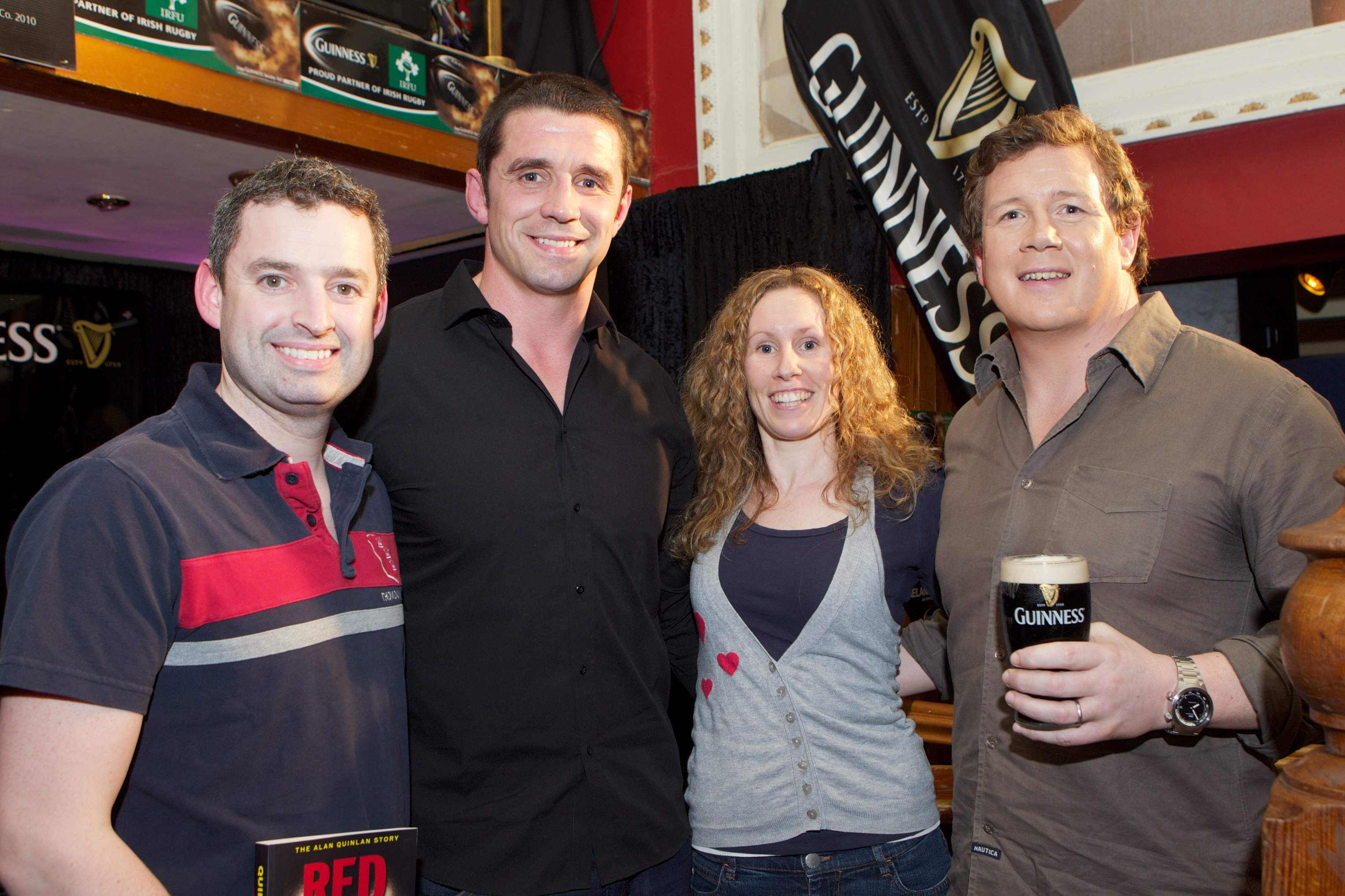 Guinness Supporters Event at  'Old Oak'.