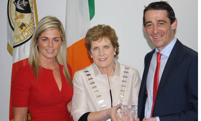 Jockey honoured by Cork County Mayor