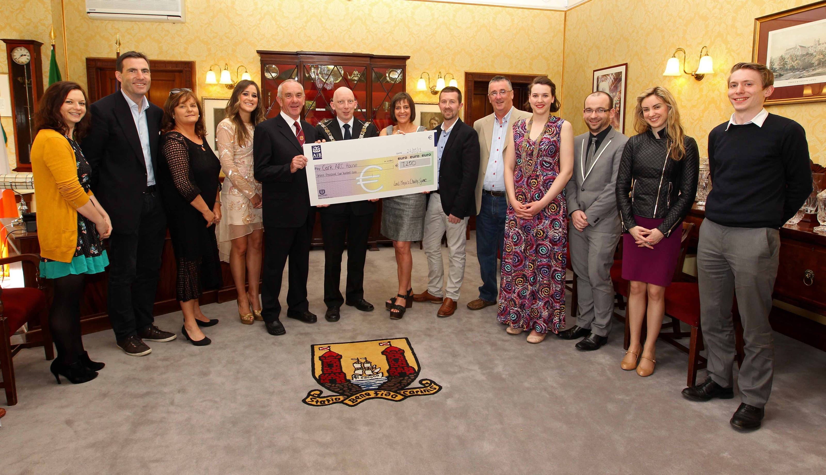 7,000 euro raised by Lord Mayor's Charity GAA match