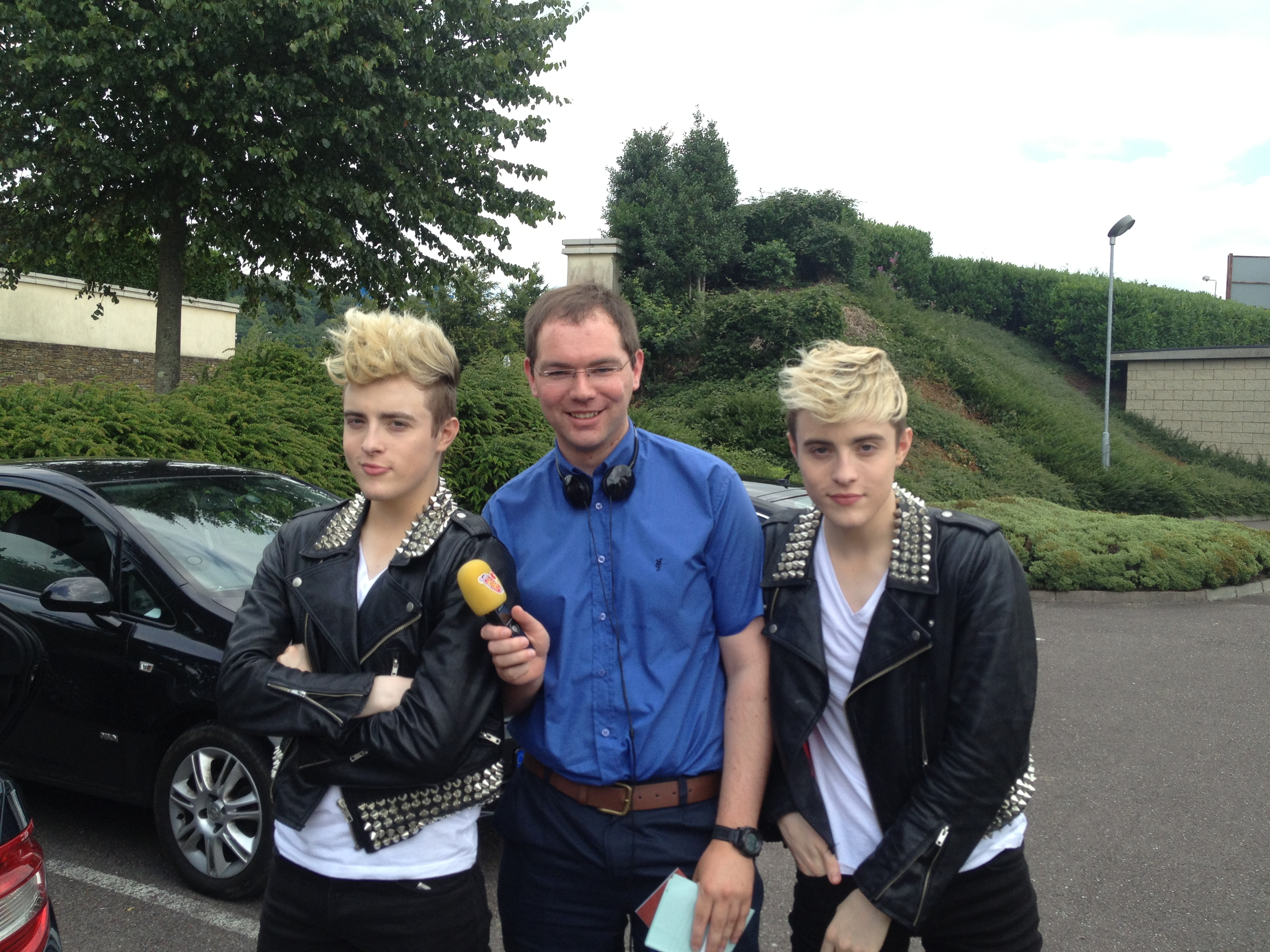 Jedward become honorary Citizens of Cork