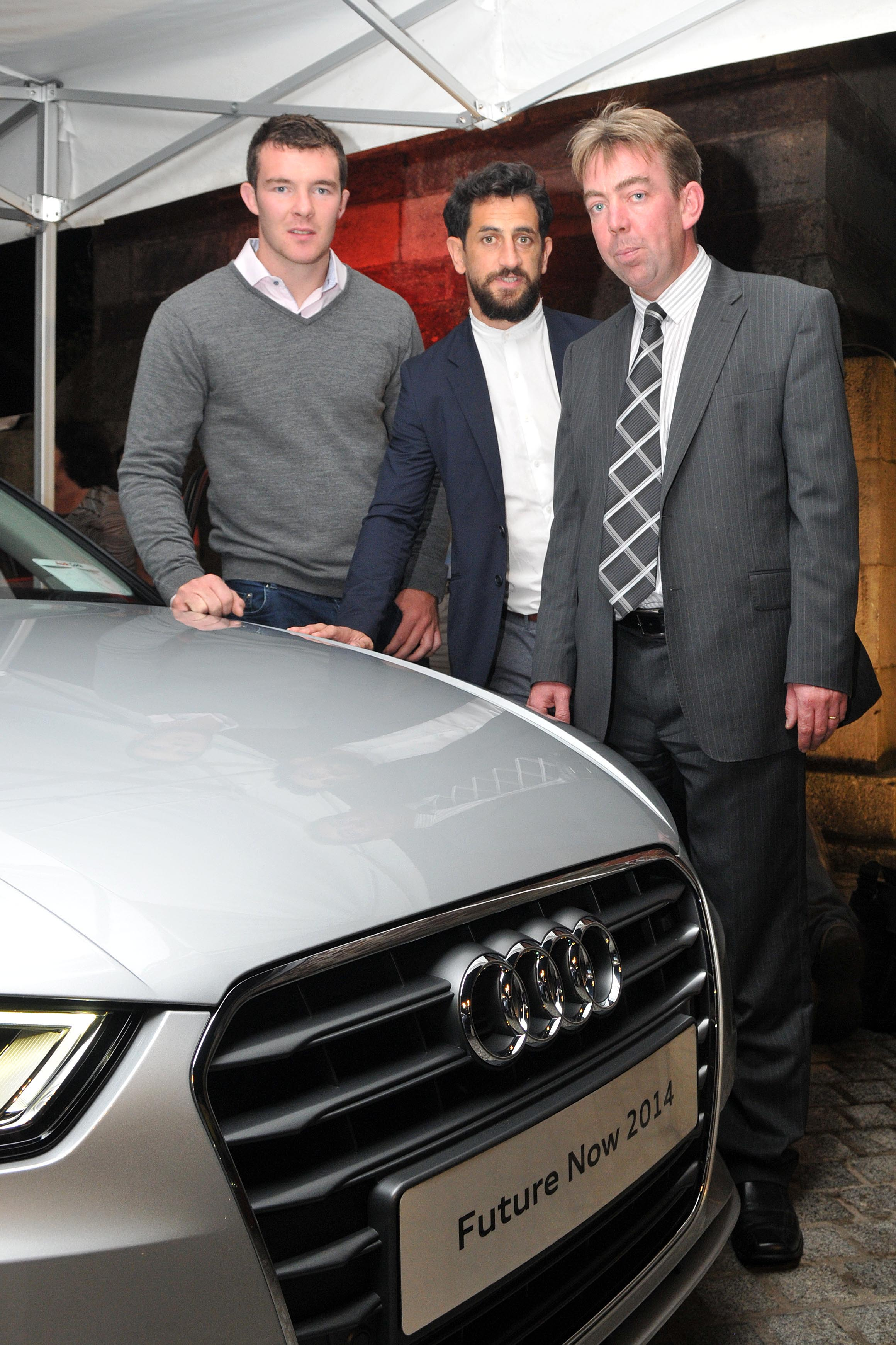 Sports stars launch new Audi in Cork