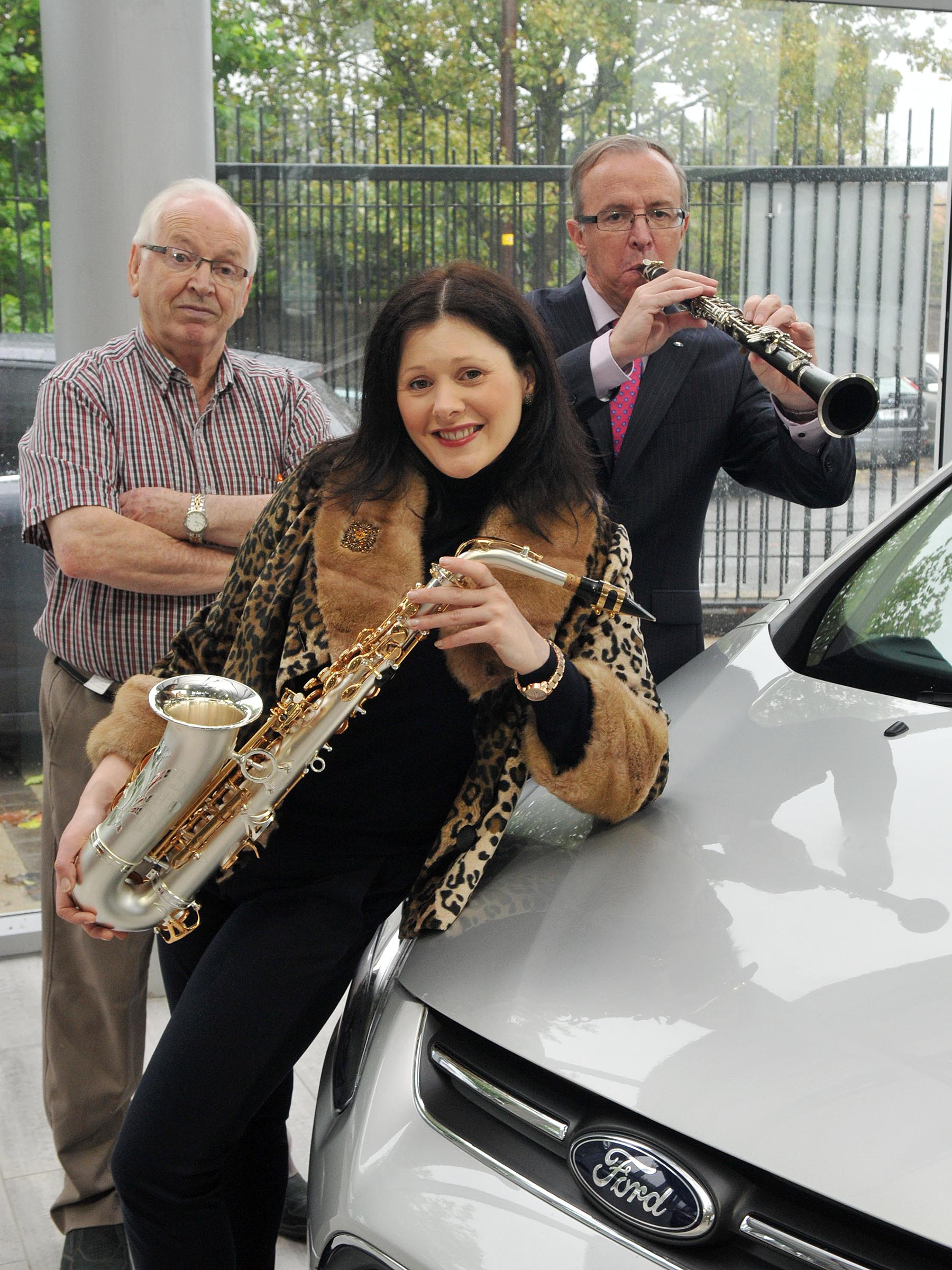 Ford gives wheels to Jazz Festival