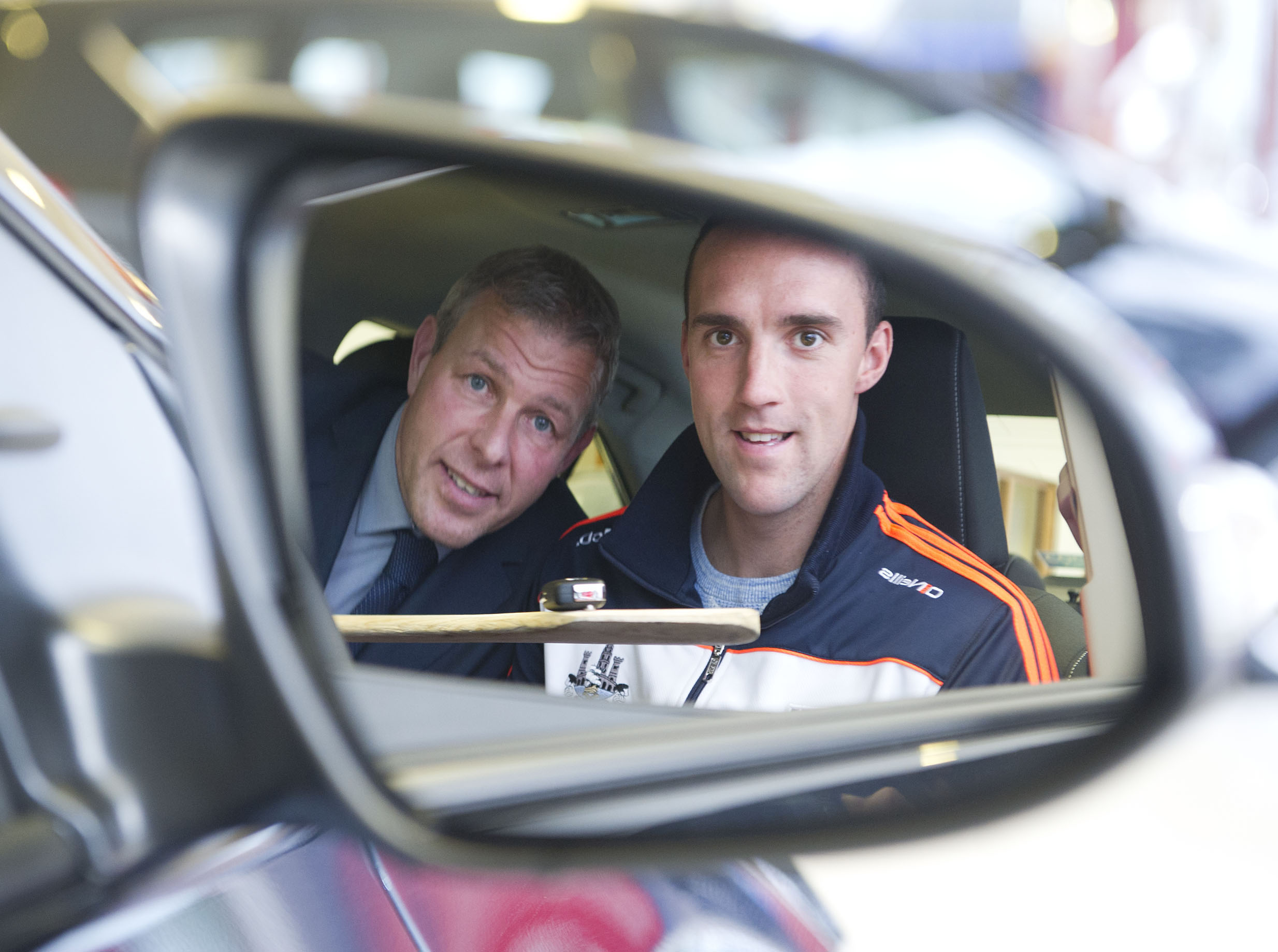 Cork Hurler receives new Toyota from Carrigaline dealership
