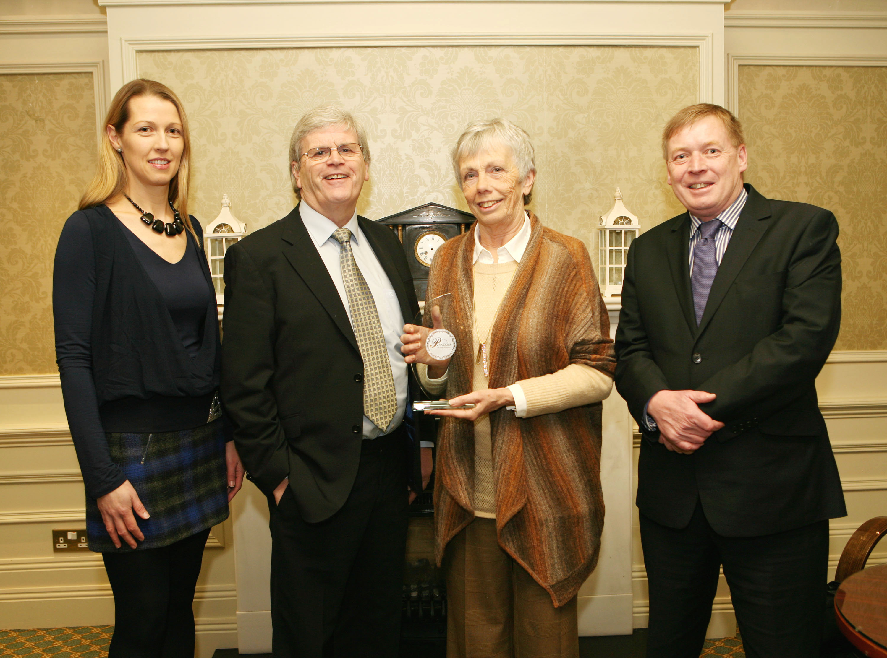 Joan Hamilton is February Cork Person of the Month