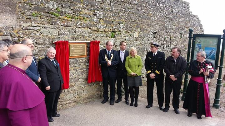 [Video] Titanic Memorial Garden opens in Cobh