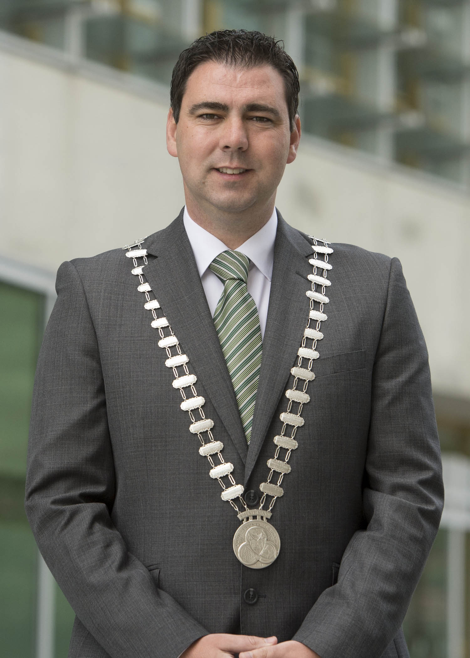 Mayor of County Cork connects with the people of Cork via Facebook and Twitter