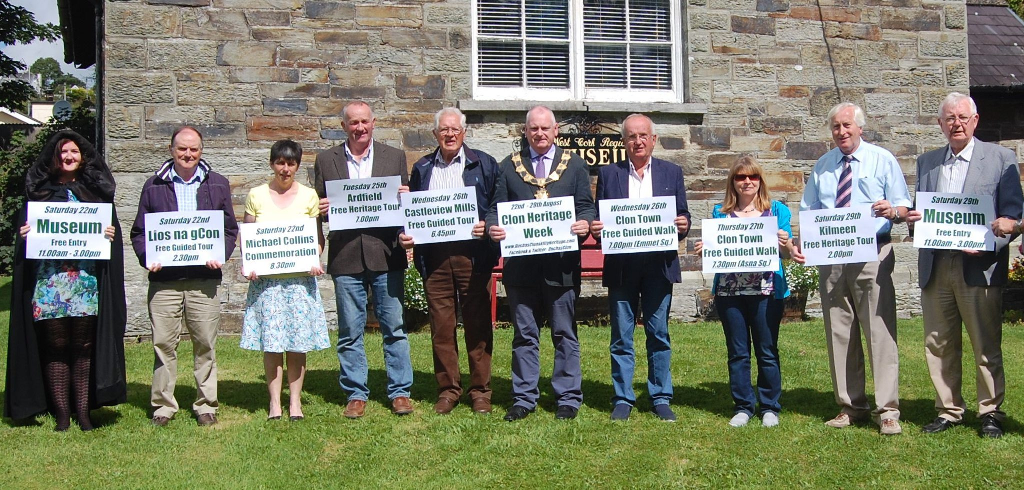 Clonakilty Heritage Week launched