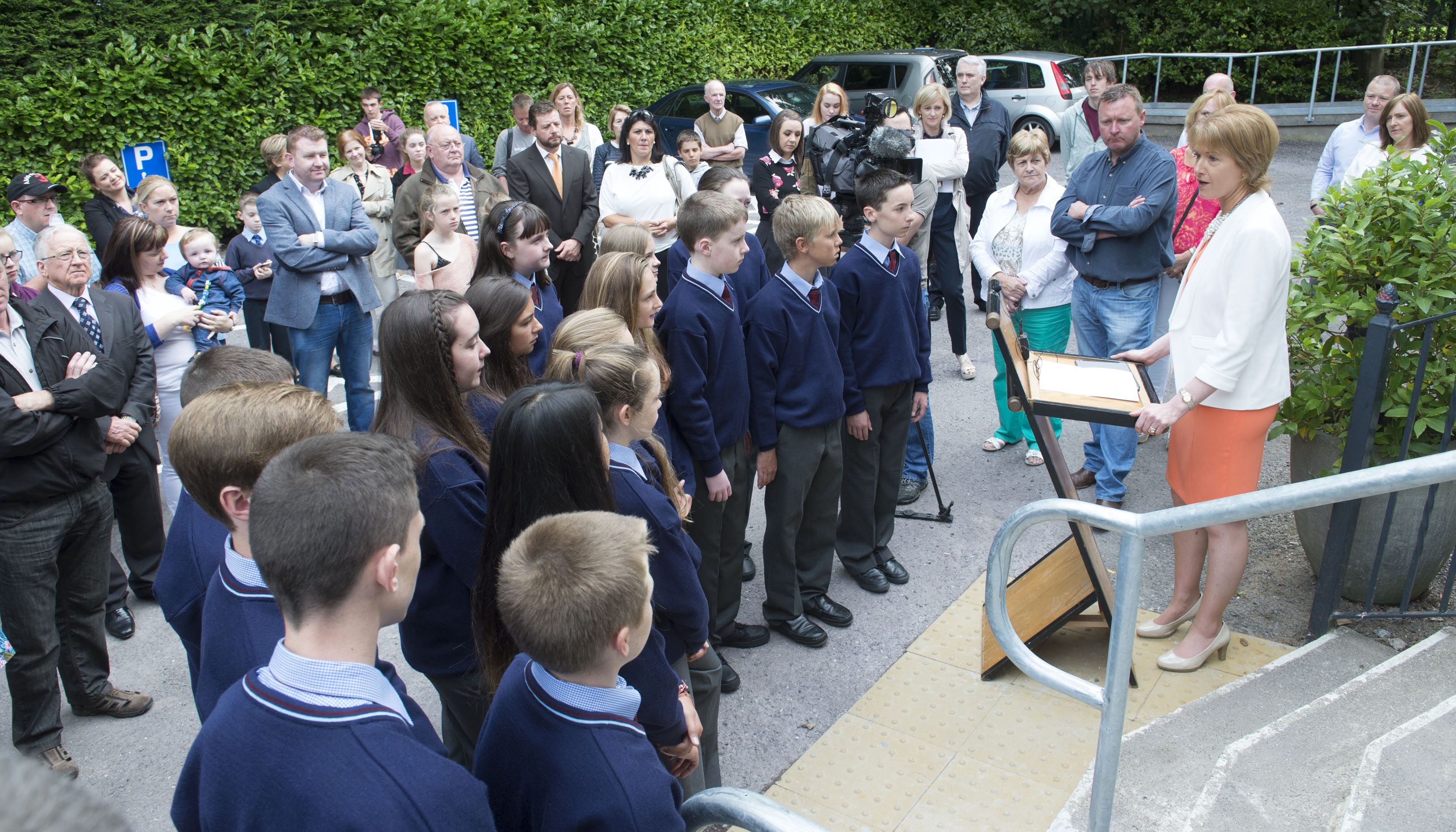 Carrigaline Gaelcholáiste opens in Waterpark House