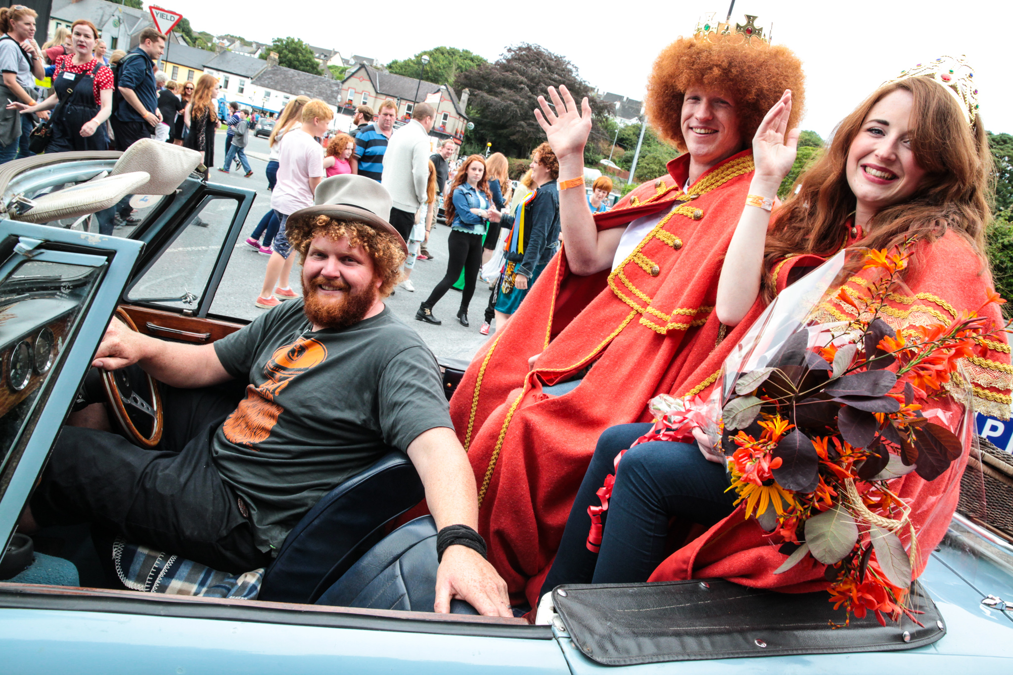 Irish Redhead Convention underway in Crosshaven