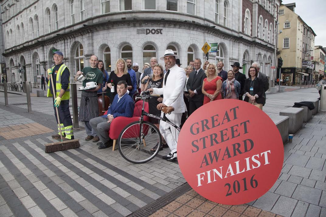 Oliver Plunkett Street in running for award