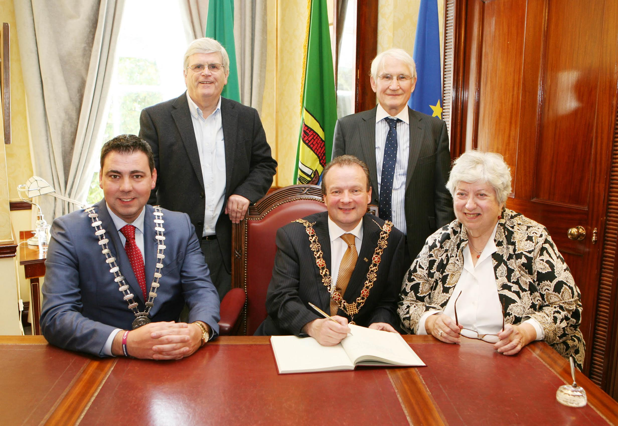 Daughter of Tip O'Neill meets Cork Lord Mayor and County Mayor