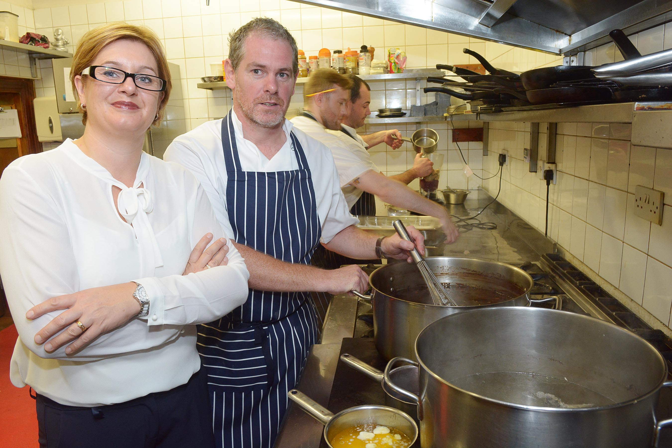 Top Cork French Restaurant raises money for Simon Community