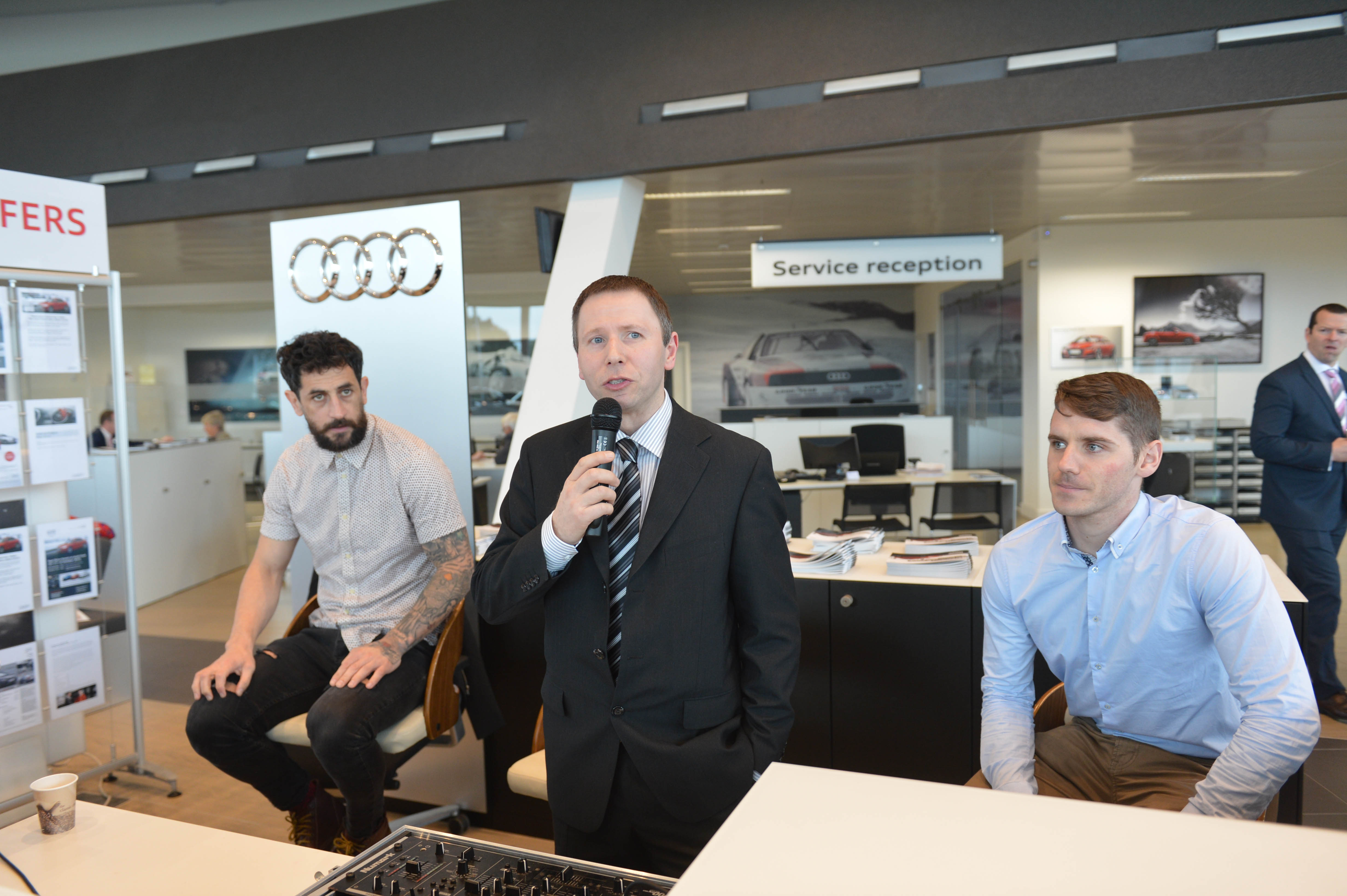 Audi Cork hold open day