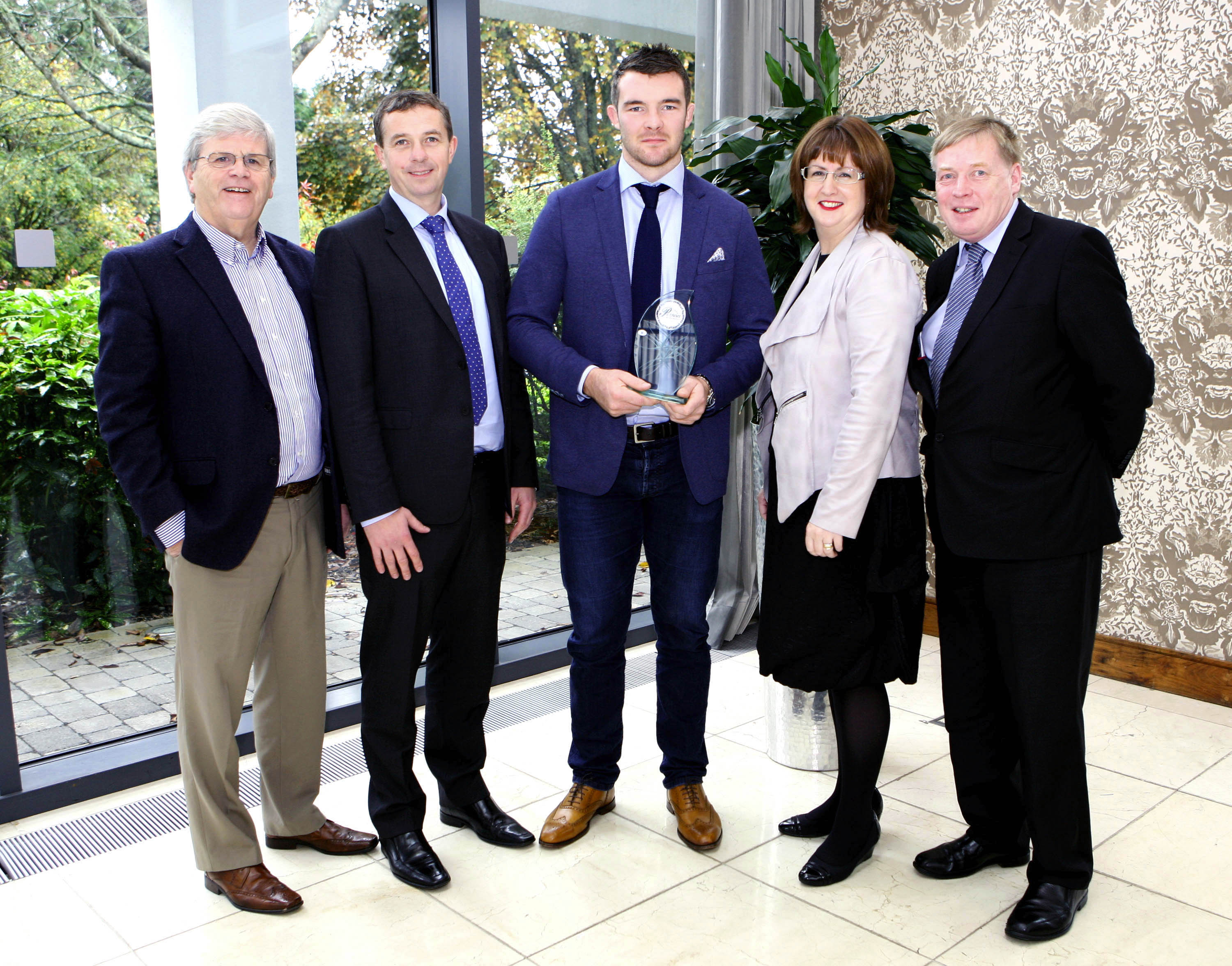 Rugby star Peter O'Mahony is 'Cork Person of the Month'
