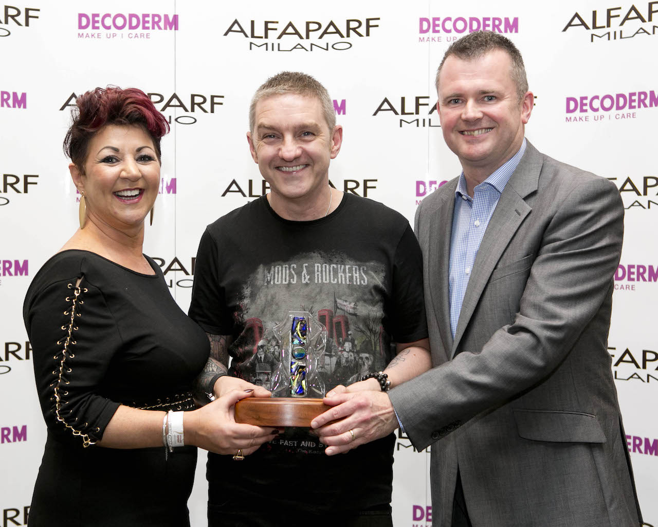 Award for Cork hairdresser Wayne Lloyd