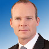 Cork Minister Simon Coveney leads Ireland's largest trade mission to West Africa