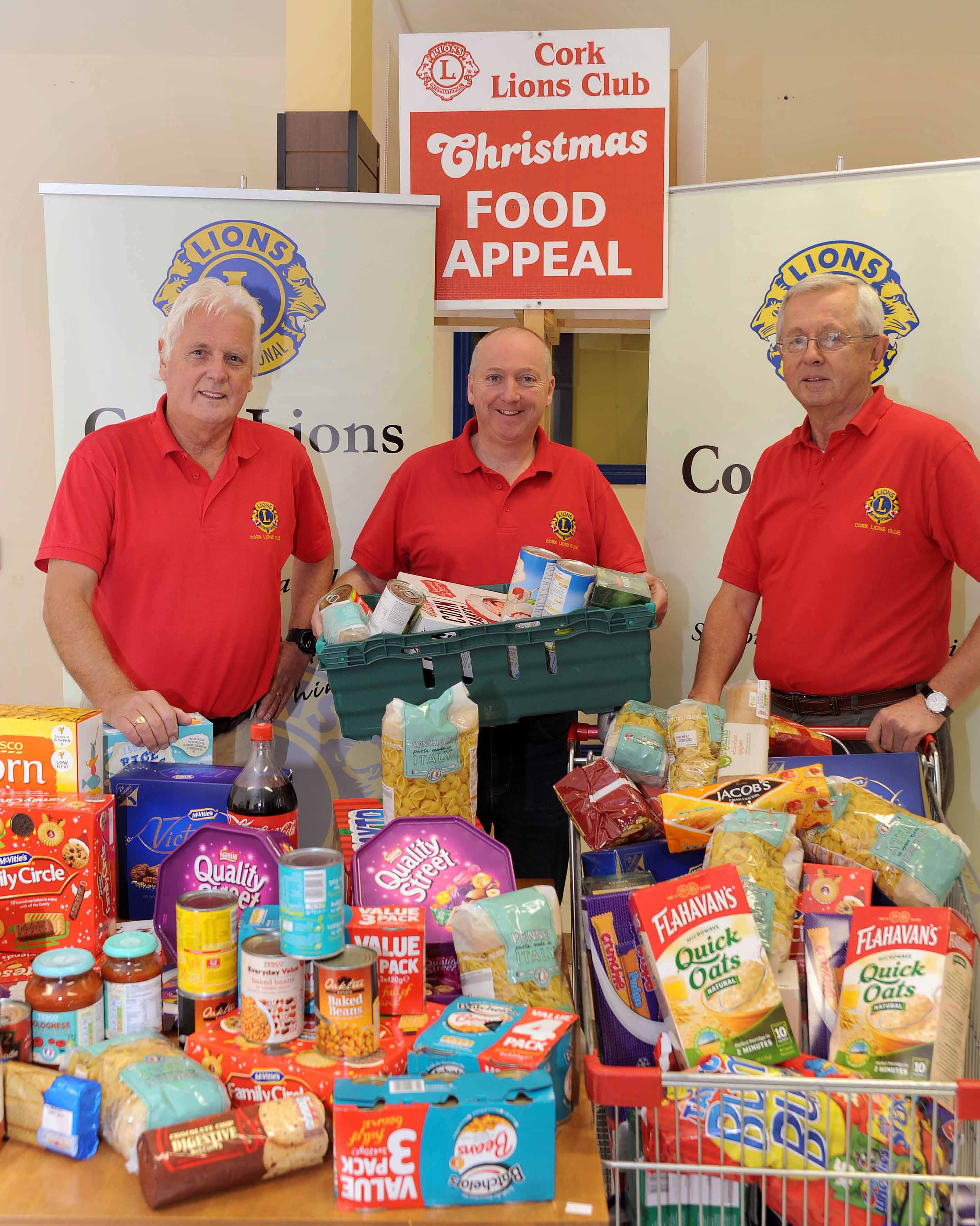 Cork Lions Club Christmas Food appeal begins today