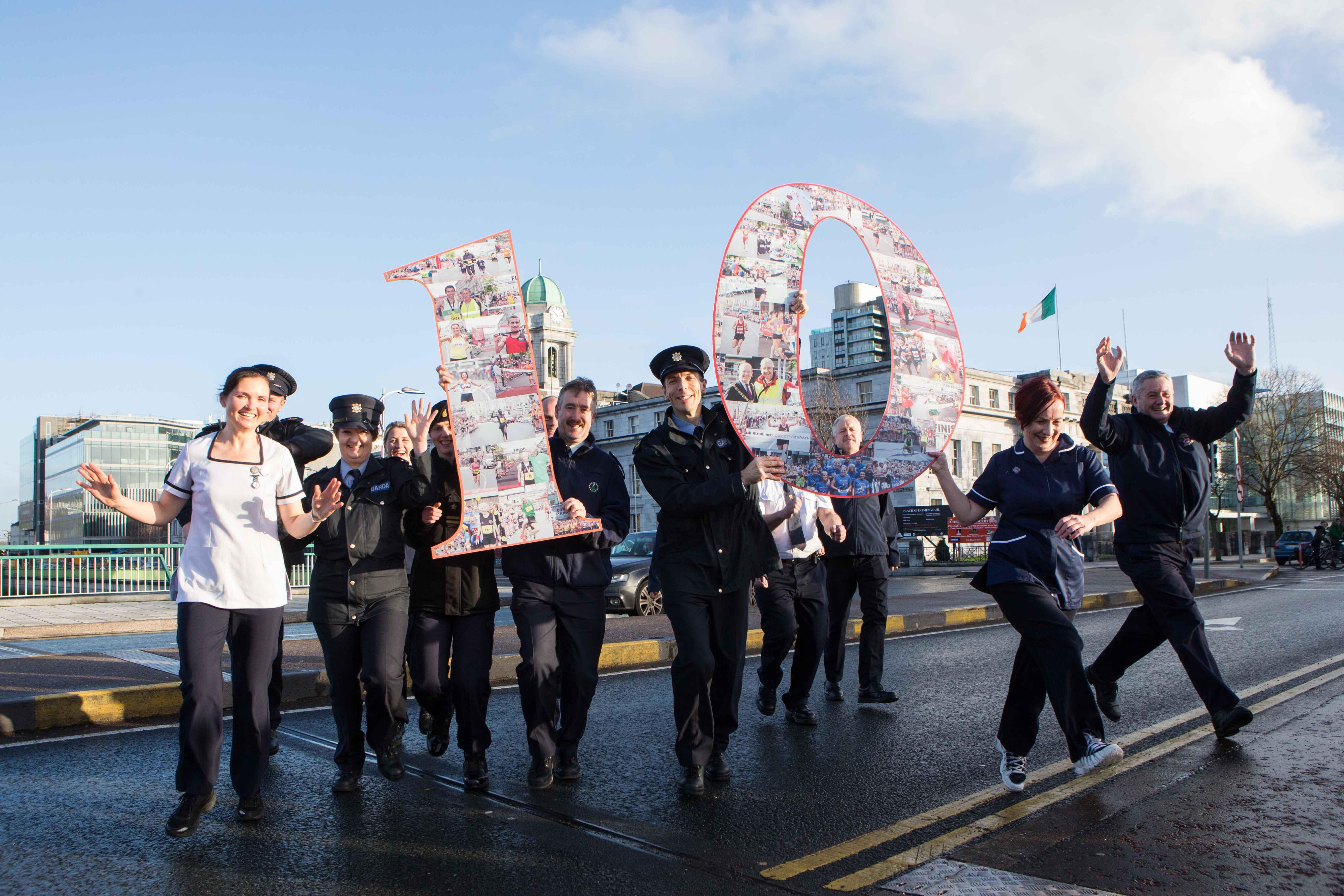 Cork City Marathon seeks Uniformed Service Personnel for 'Battle of the Badges'