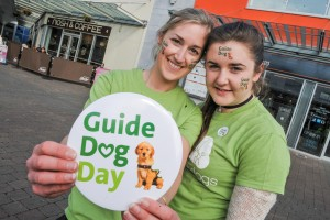 Cork Athlete Derval O'Rourke launches Irish Guide Dogs Blind Christmas Campaign