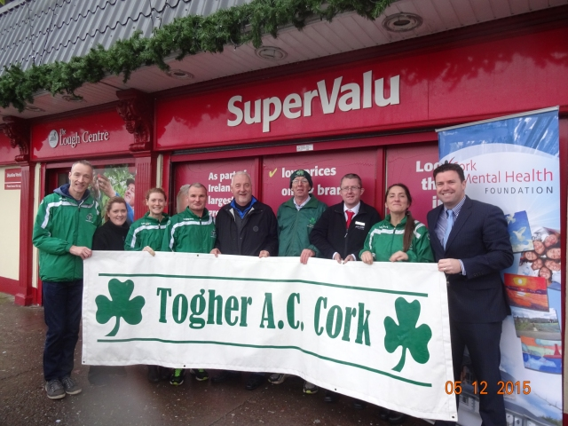 Togher Athletics Club 5k Christmas road race launched at Ryan's SuperValu Togher