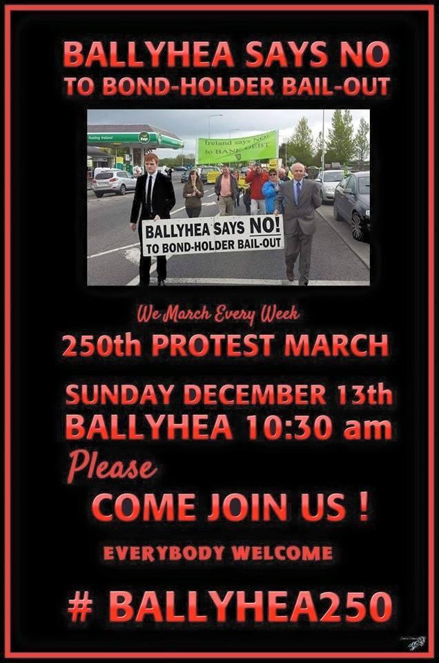 Gerry Adams expresses solidarity with Cork 'Ballyhea Says No' group