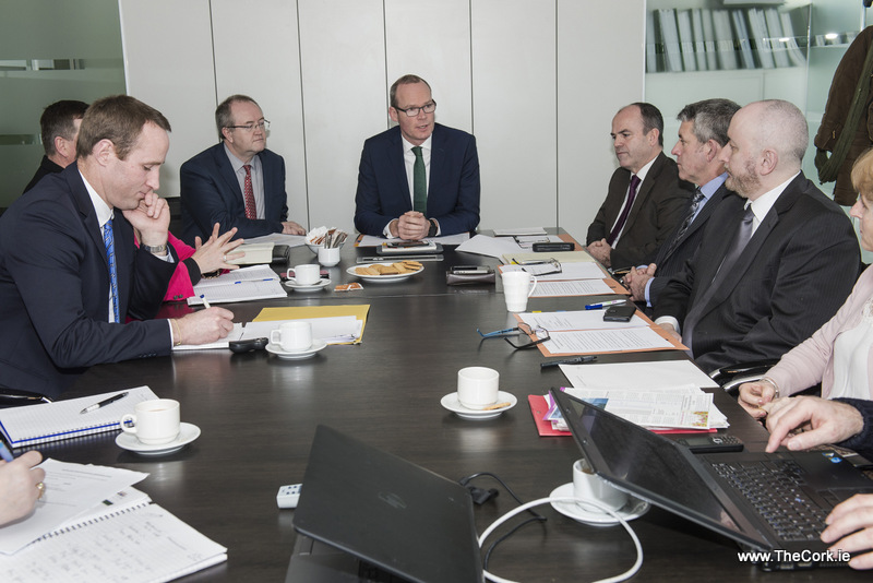 Coveney attends meeting of Haulbowline Island Remediation Stakeholders Consultation Group