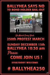 Ballyhea Bondholder protestors to meet Central Bank Governor