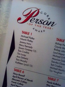 Cork Person of the Year to be announced this afternoon