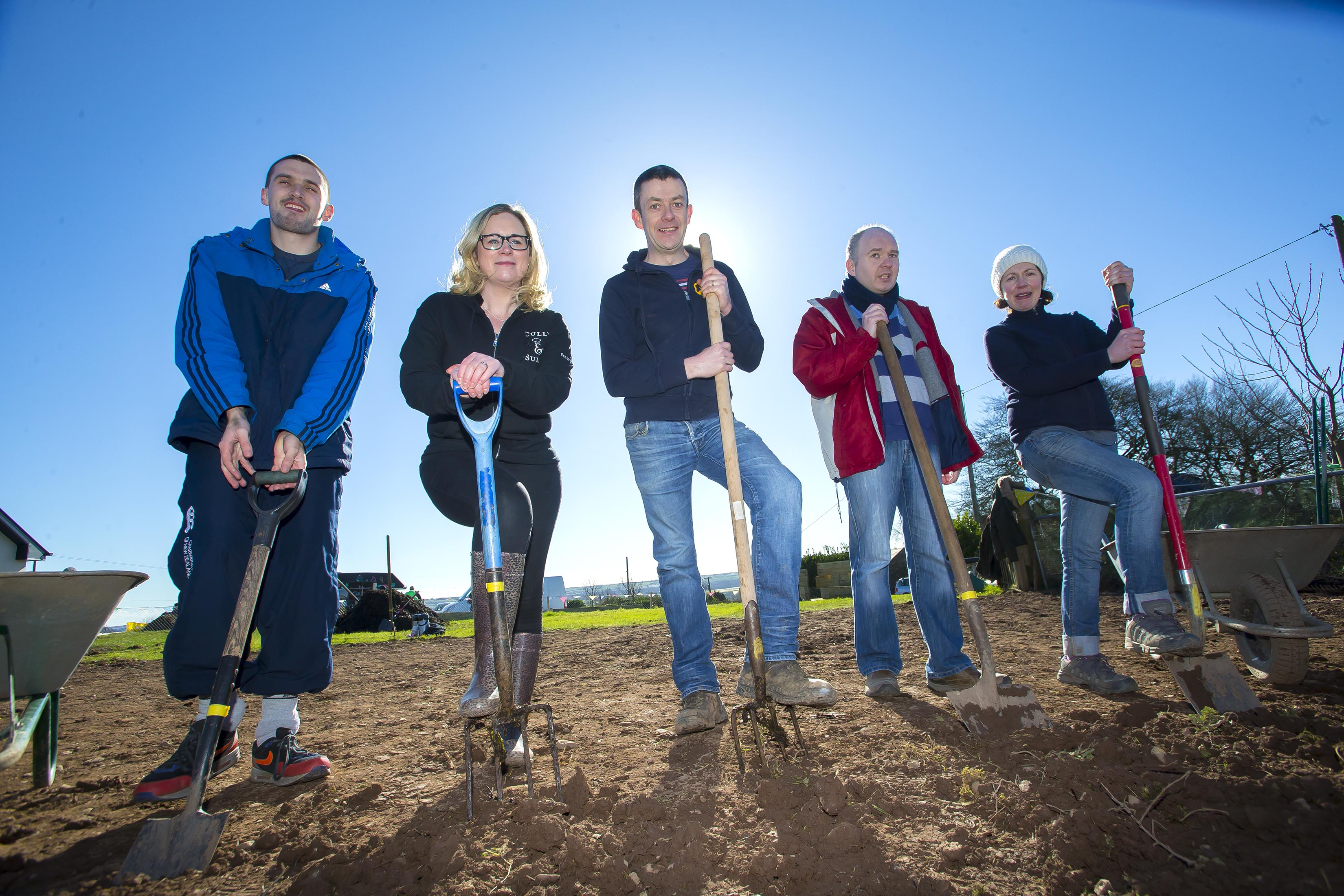€3,000 Kitchen Garden planted at Cork Association for Autism by GIY and Cully & Sully