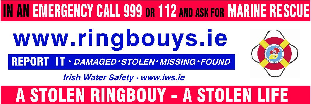 Cork County Council concerned about lifesaving Ringbuoys being stolen