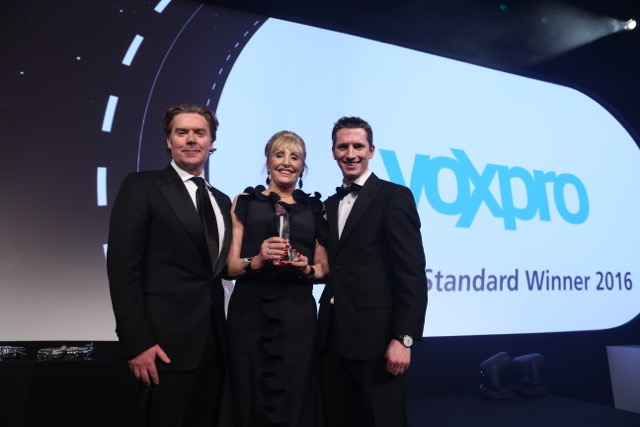 Voxpro win for 4th year running at 'Deloitte Best Managed Awards 2016'