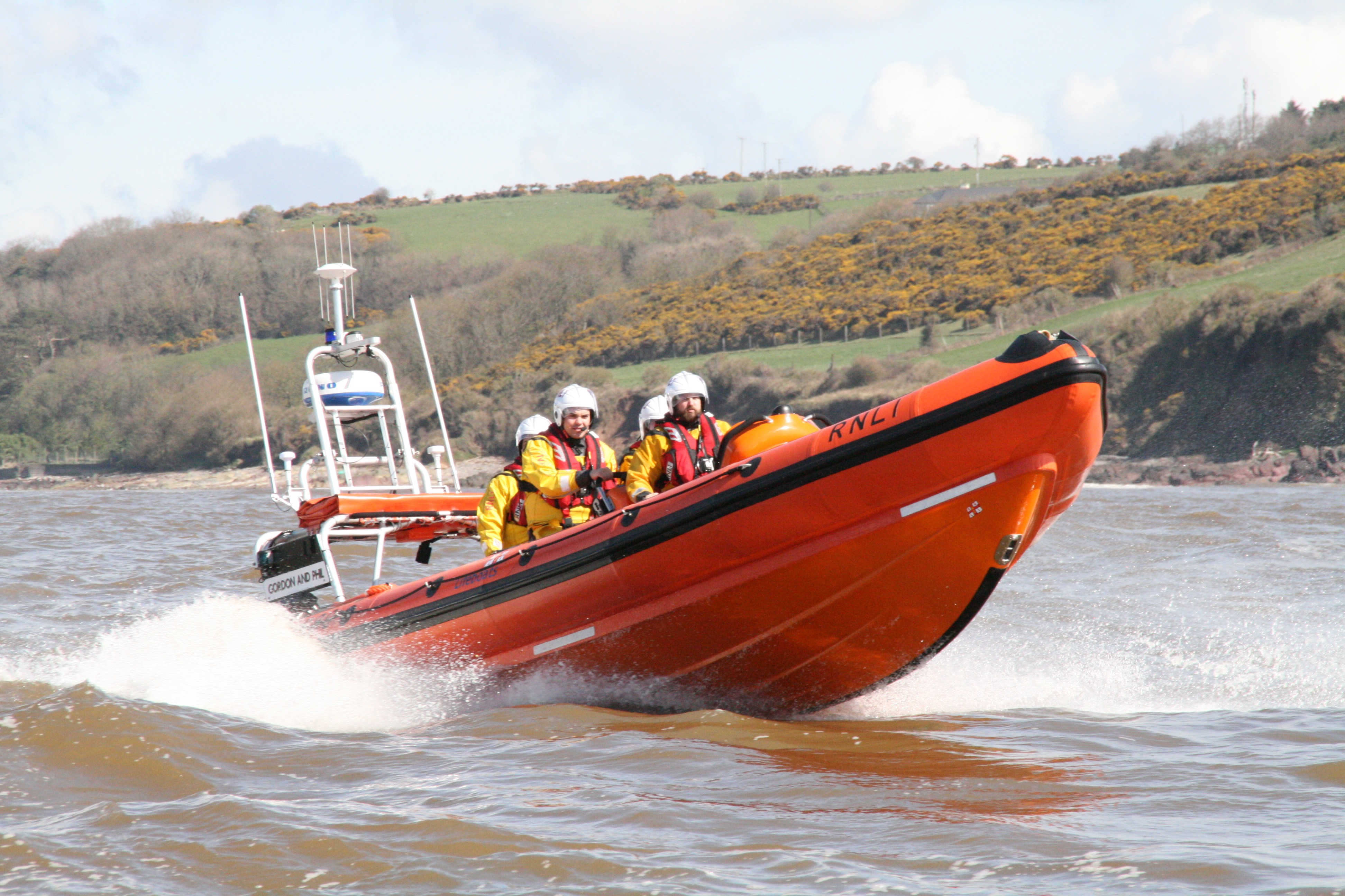 New Atlantic 85 class lifeboat arrives at Youghal RNLI