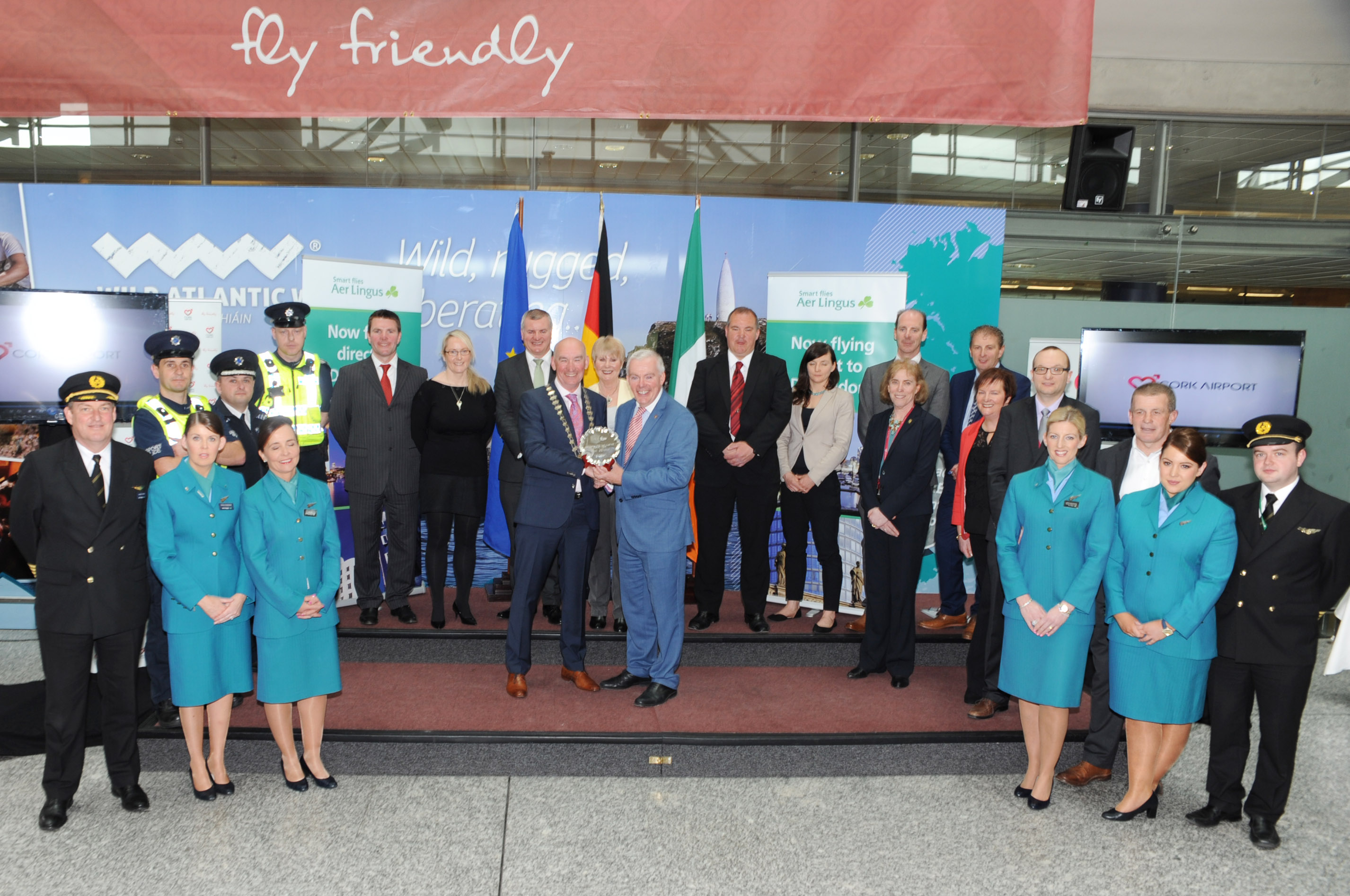 Brief: Managing Director of Cork Airport Niall McCarthy received Cork Business Association Award