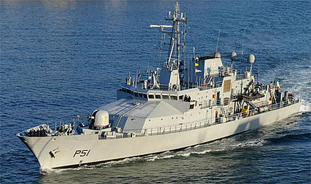 Irish Naval ship LE Róisín sails from Cork to Mediterranean to begin migrant rescue mission