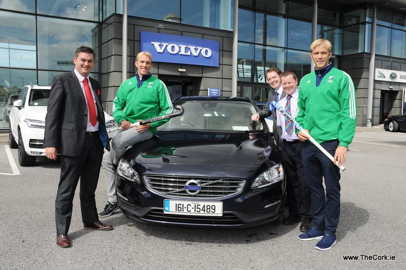 Volvo supports Cork players on Ireland Hockey team
