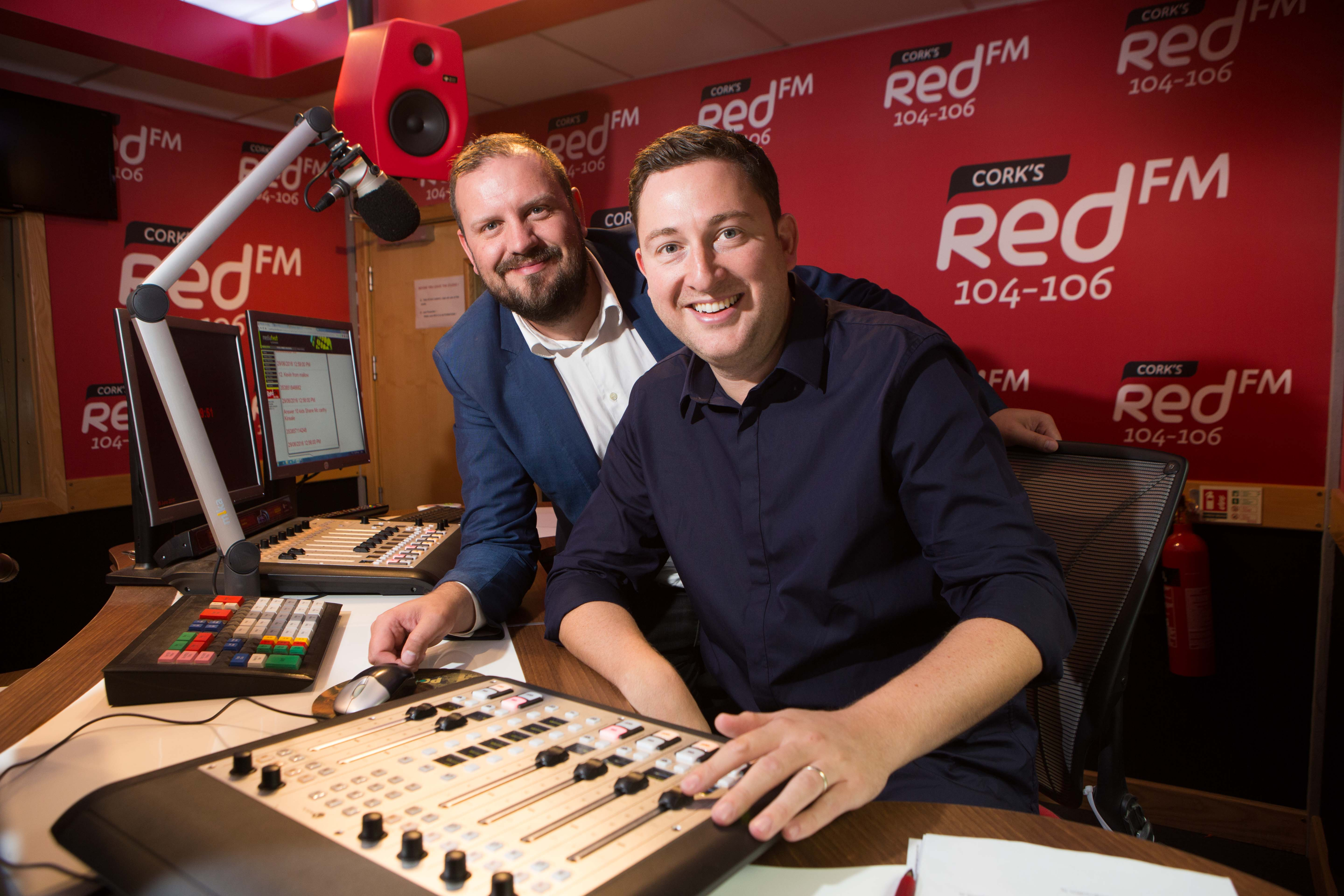 Ray Foley travels from Dublin to Cork to broadcast 3 hour Saturday show on RedFM