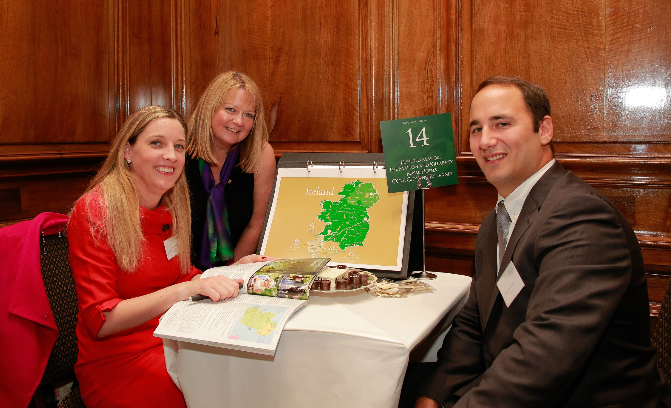 Cork hotels out in force at 'Flavours' tourism event in London