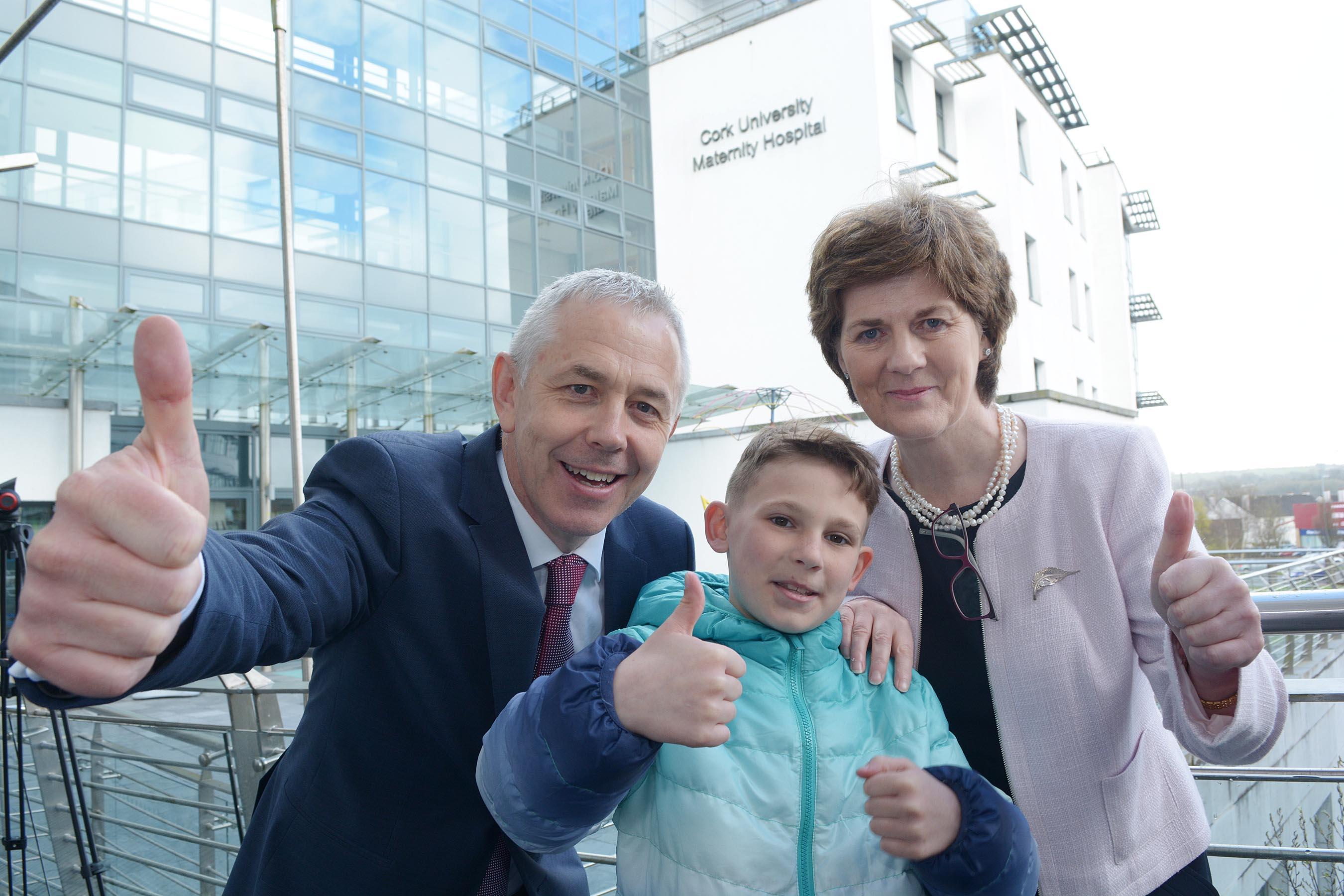 Cork University Maternity Hospital – CUMH – celebrates its own 10th