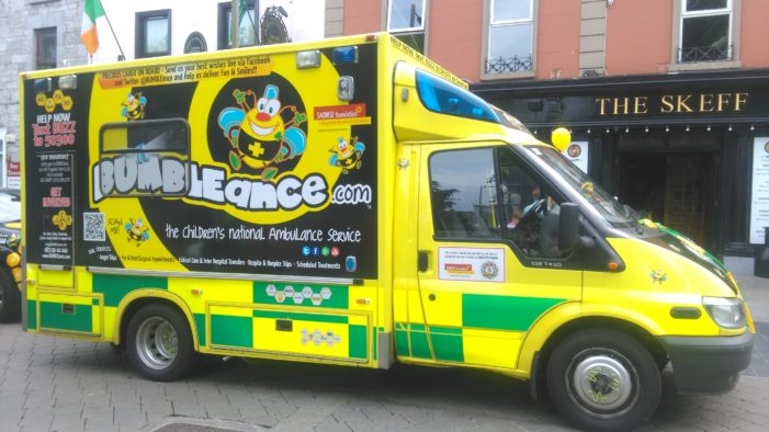 HEALTH: 'BUMBLEance' Children's Ambulance Service creates Cork based fundraising committee