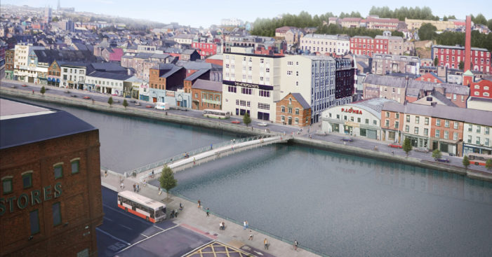 What's the name for the new Cork City Centre bridge?