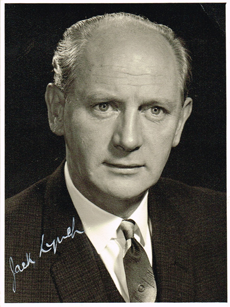 HISTORY: Cork marks centenary of the birth of Jack Lynch (1917-1999) who twice served as Taoiseach (1966-1973 & 1977-1979)
