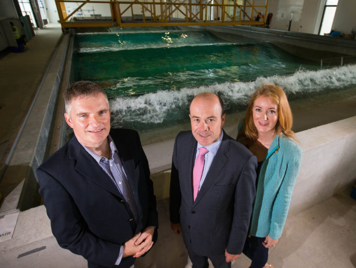 RINGASKIDDY: Cork's Ocean Testing Infrastructure visited by Climate Action Minister