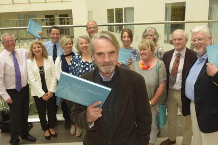 ART: Actor Jeremy Ironslaunches Cork University Hospitals