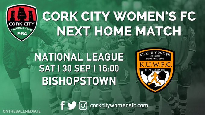 SOCCER: Match Preview – Cork City WFC vs Kilkenny United WFC