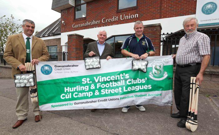 SPORT: Credit Union sponsors Hurleys and Sliotars for local GAA club
