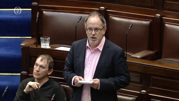 "POLITICS: Cork TD accuses Government of ""fiddling the figures"" on number of new houses built"