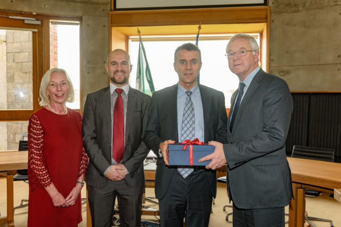 DIPLOMATIC VISIT: French Ambassador visits Cork Institute of Technology Tourism & Hospitality Department