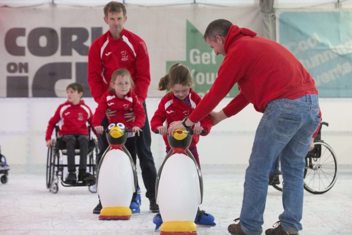 VIDEO: Cork on Ice aims to raise €50k for Cork wheelchair sports group 'Rebel Wheelers'