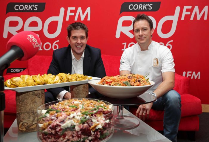 ENTERTAINMENT: RedFM launch food series with top Kinsale Chef